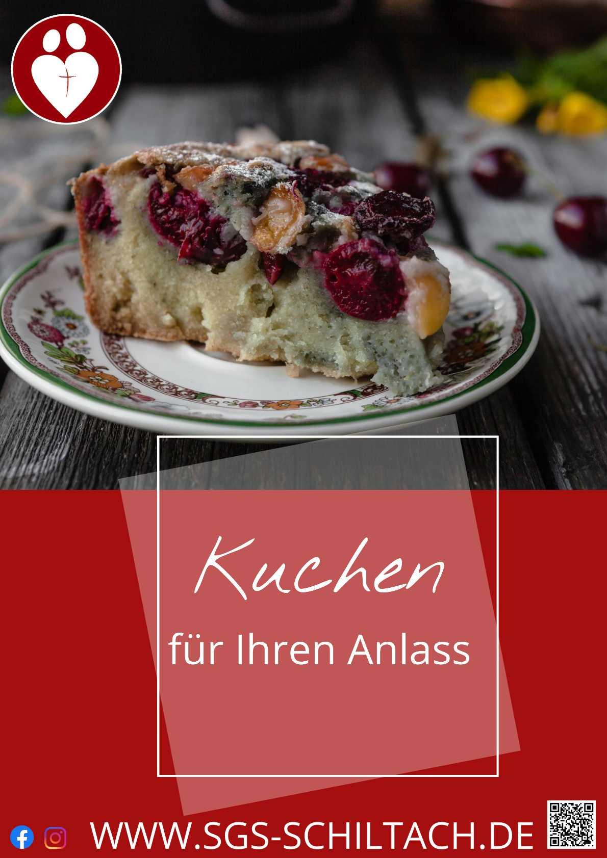 Kuchen für Ihren Anlass