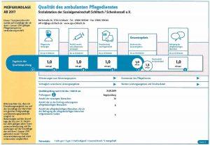 Qualität des ambulanten Pflegedienstes